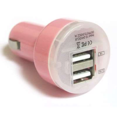 Car charger Comicell JX-8 2.1 / 1A pink