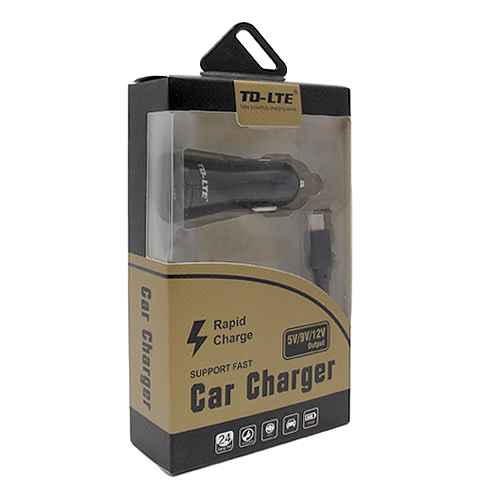 Car charger Comicell TD-FC23 FAST 2.1A USB Type C black