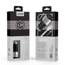 Car charger LDNIO C403 2xUSB 5V / 4.2A for Iphone lightning black-silver