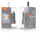 Car charger LDNIO C407Q 2xUSB 5V / 3A FAST QC 3.0 for Iphone lightning gray
