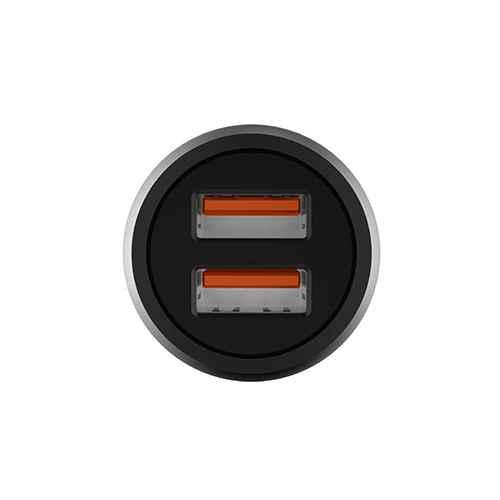 Car charger LDNIO C503Q 2xUSB 5V / 3A FAST QC 3.0 microUSB gray