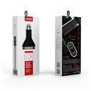 Car charger LDNIO C701Q 4xUSB 5V / 6.6A FAST QC 3.0 microUSB red