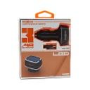 Car charger Moxom MX-VC01 3xUSB 5V / 3.4A microUSB black