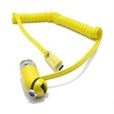 Car charger REMAX Cutie RCC-211 USB / 2.4A 3in1 for Iphone lightning / micro / Type C USB yellow
