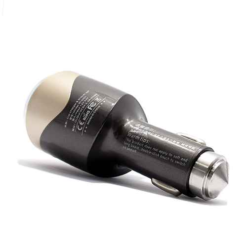Car charger REMAX RT-SP01 + Safety Hammer + Shaver 2.4A brown / gold
