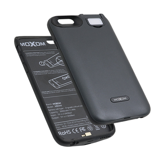 Battery Back Up Moxom MB007 for Iphone 6G black