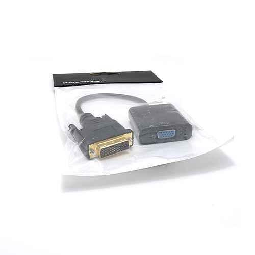DVI-D to VGA M / F adapter