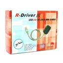 SATA to USB 2.0 R-Driver III adapter with power supply black
