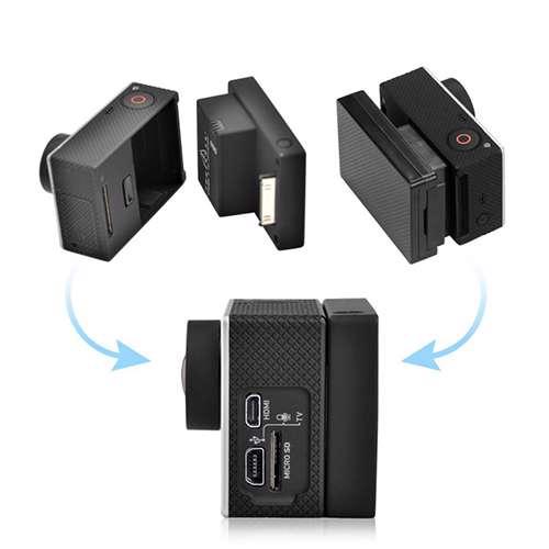 Back up battery for GoPro Hero 3 2300mAh + case