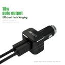 Car charger LDNIO C306 2xUSB 5V / 3.6A Type C black