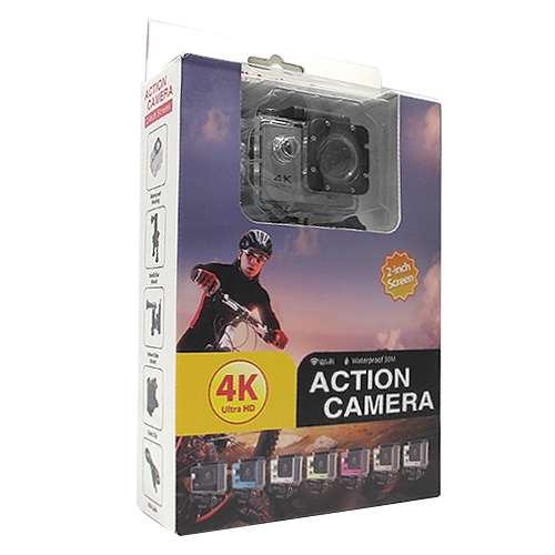 ACTION camera Comicell 4K Ultra HD Wi-Fi 130 white