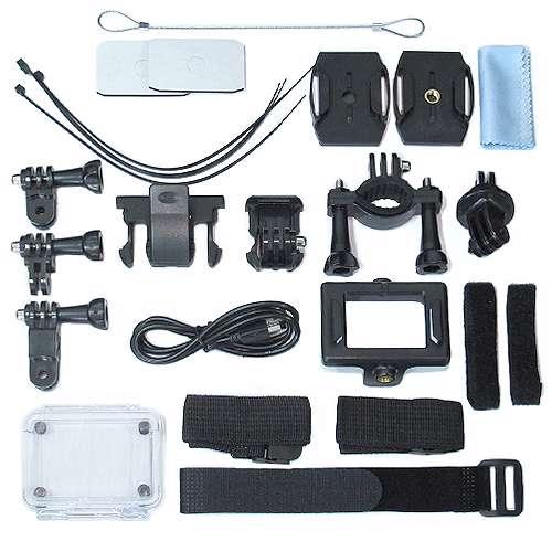 ACTION camera Comicell J530R 4K Ultra HD Wi-Fi black
