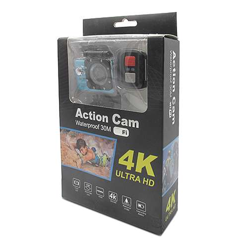 ACTION camera Comicell J530R 4K Ultra HD Wi-Fi blue