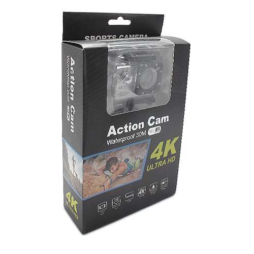 ACTION camera Comicell J7 4K Ultra HD Wi-Fi silver