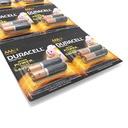 Alkaline battery 1.5V AAA LR3 blister 12/1 Duracell