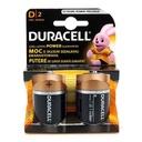 Alkaline battery 1.5V D LR20 blister 2/1 Duracell