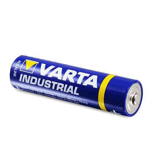 Alkaline battery Industrial 1.5V AAA LR03 VARTA