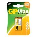 Alkaline battery Ultra 9V 6LF22U-U1 / LR61 GP