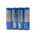 Battery zinc-carbon PowerPlus 1.5V AA 15C-S4 / R6 4/1 foil GP