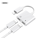 Adapter Remax Concise za slušalice i punjenje iPhone lightning RL-LA07i beli