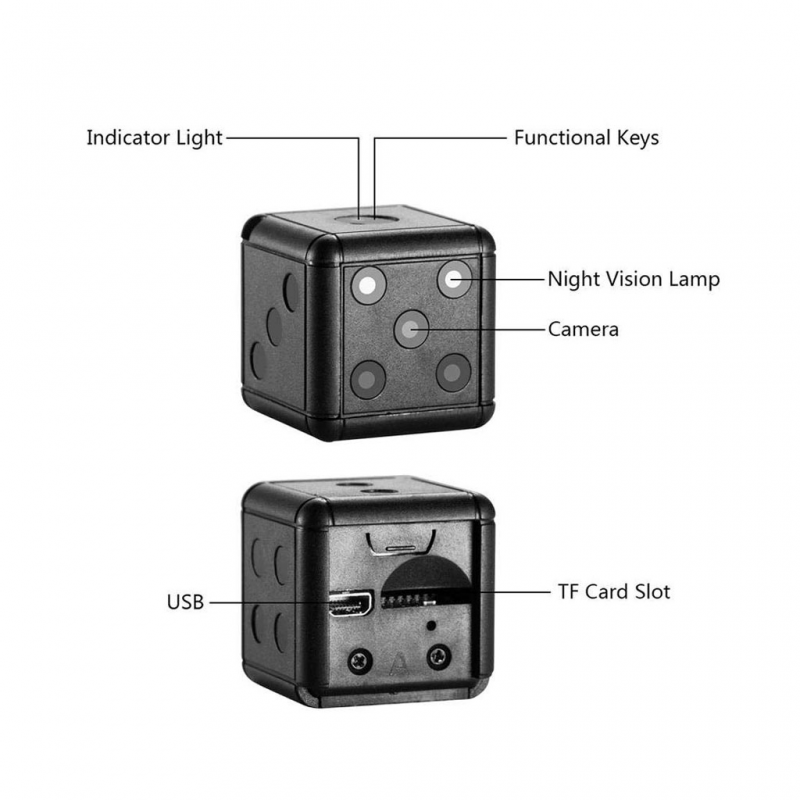 Action Camera SQ16 black