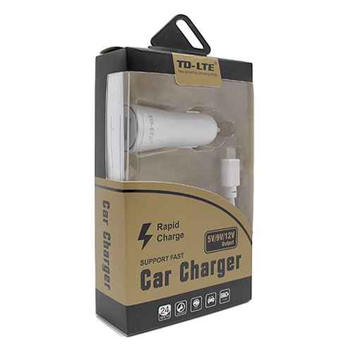 Car charger Comicell TD-FC23 FAST 2.1A USB Type C white