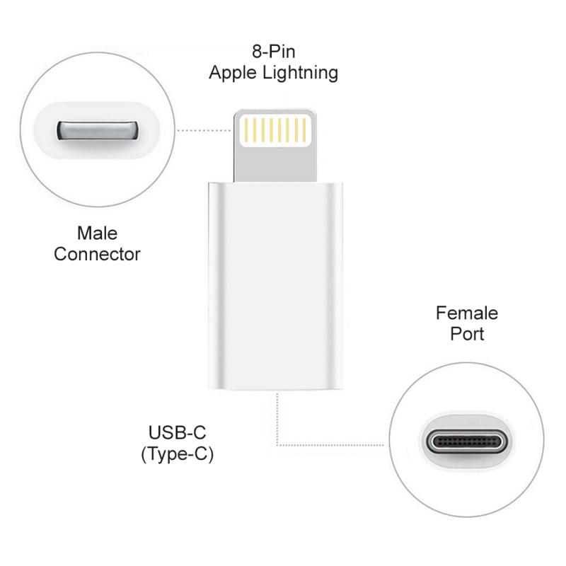 Adapter Type C na iPhone lightning beli