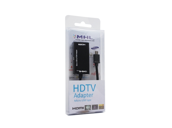 MHL Micro USB to HDMI adapter