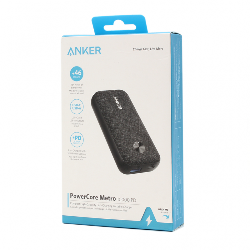 Back up battery ANKER A1239 10000mAh black