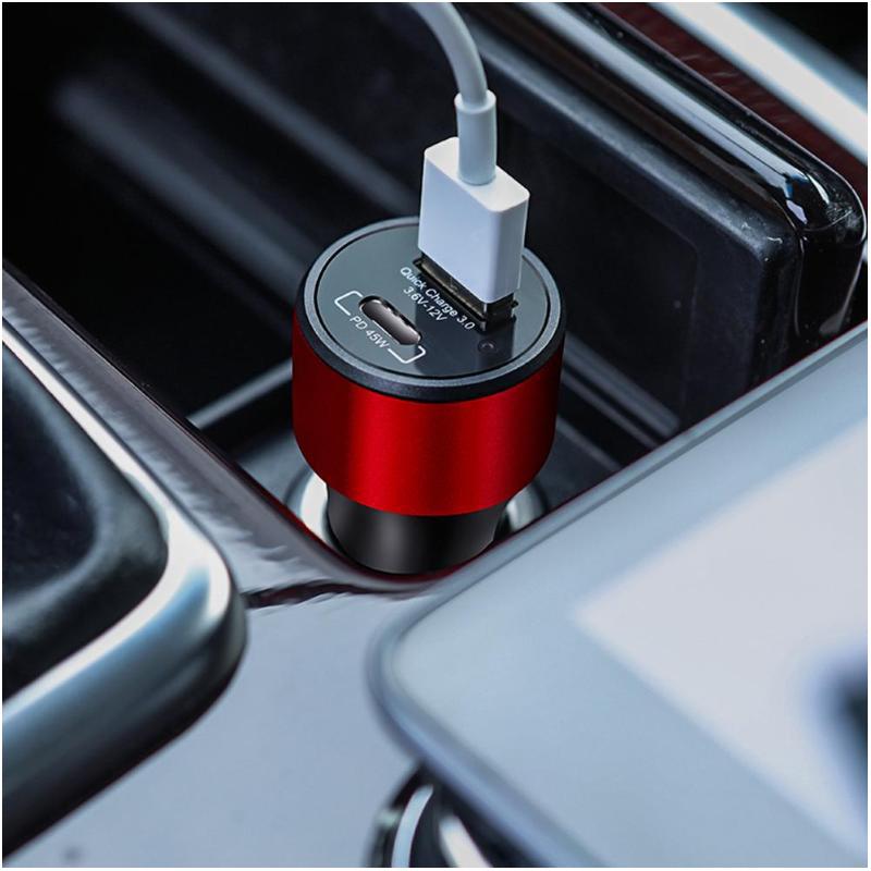 Auto punjač Nillkin NKC06 Duos fast USB/Type C