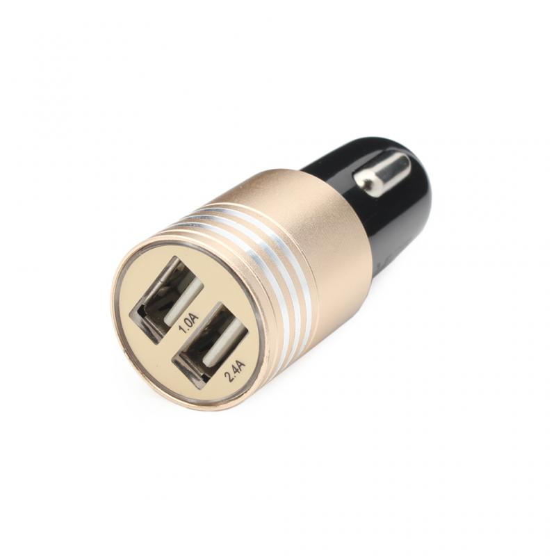 Auto punjač Hisoonton HST-188 dual USB 2.4A crni