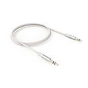 Audio kabl LDNIO LS-Y02 Aux 3.5mm sivi 1m