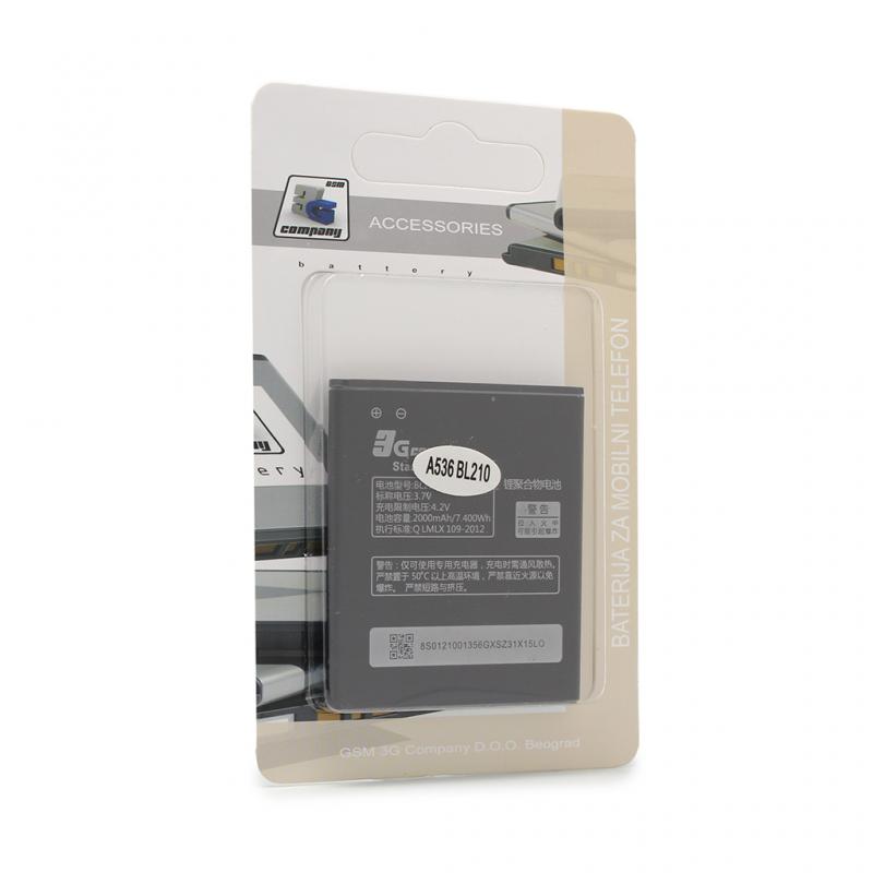 Baterija standard za Lenovo A536 BL210