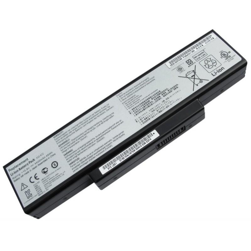 Baterija za Asus K72 K73 N73 X72 6600mAh