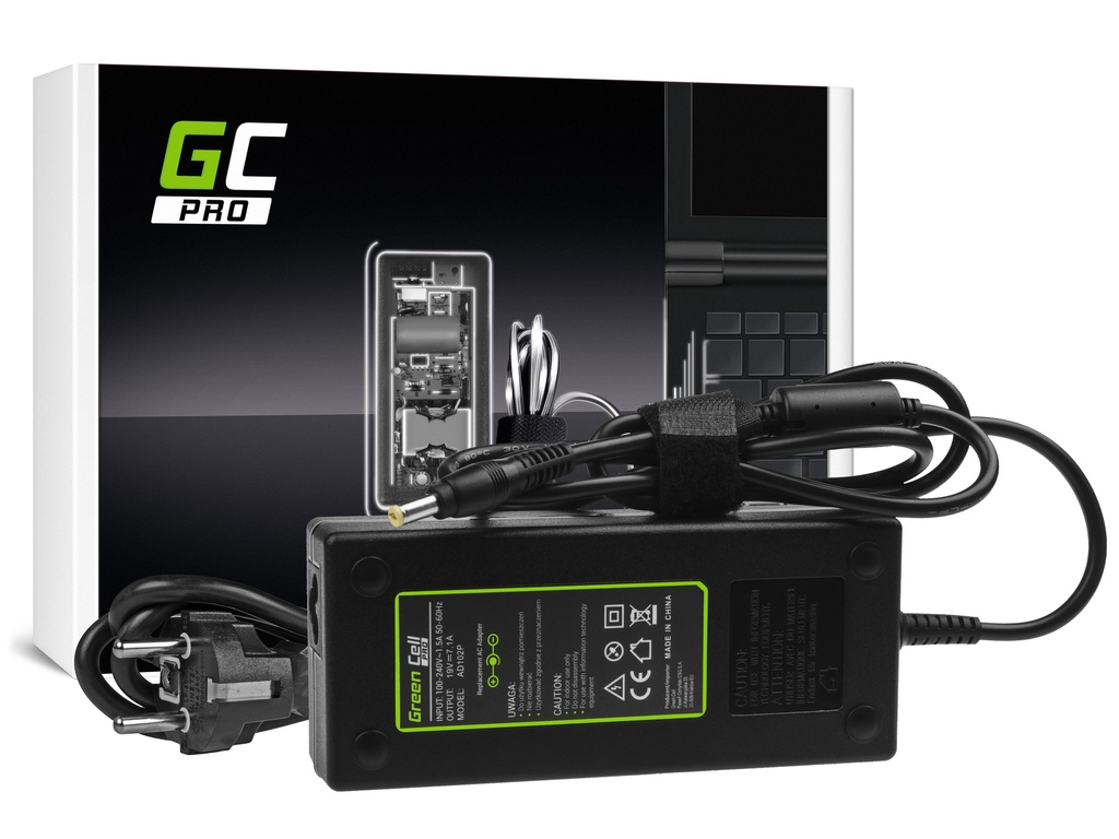 AC adapter za punjač Green Cell PRO za Acer Aspire Nitro V15 VN7-571G VN7-572G VN7-591G VN7-592G 19V 7.1A 130V