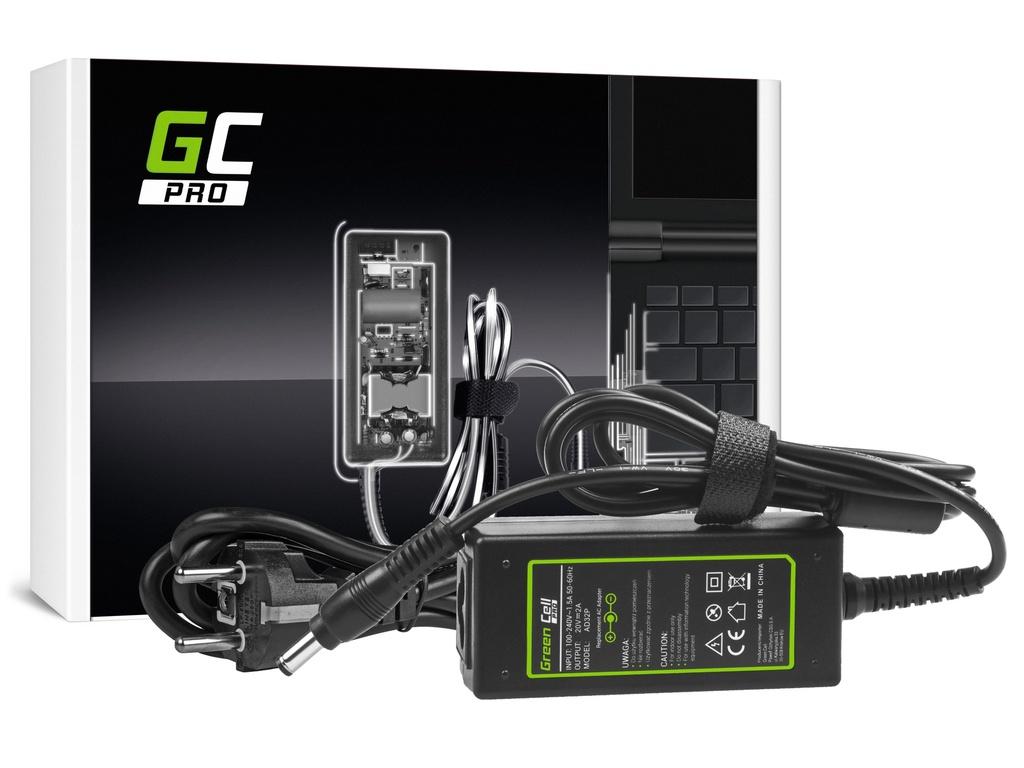 AC adapter za punjač Green Cell PRO za Lenovo IdeaPad N585 S10 S10-2 S10-3 S10e S100 S200 S300 S400 S405 U310 20V 2A 40V