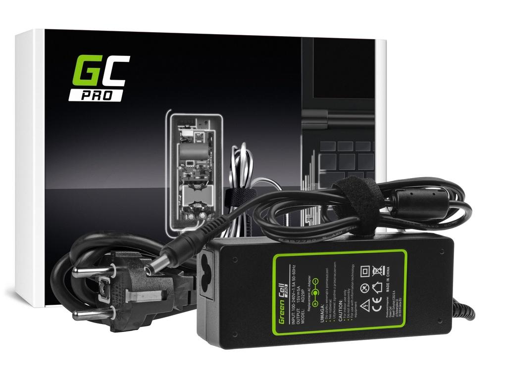 AC adapter za punjač Green Cell PRO za Toshiba Tecra A10 A11 M11 Satellite A100 P100 Pro S500 15V 5A 75V