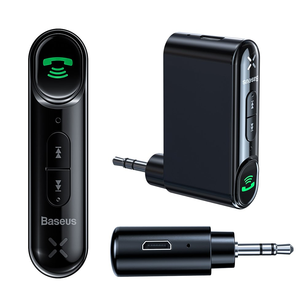 Baseus Qiyin Bluetooth audio prijemnik i aux mini priključak za automobil