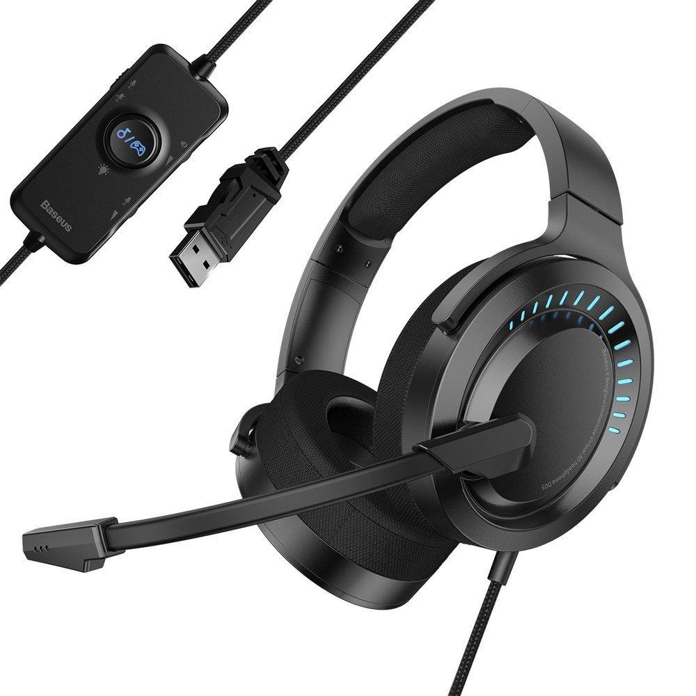 Baseus GAMO USB slušalice sa mikrofonom i linijskim upravljačem