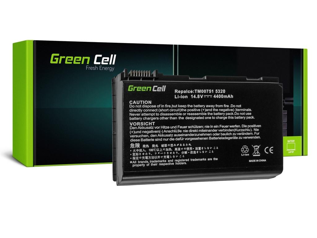 Baterija Green Cell za Acer TravelMate 5220 5520 5720 7520 7720 / 14,4V 4400mAh