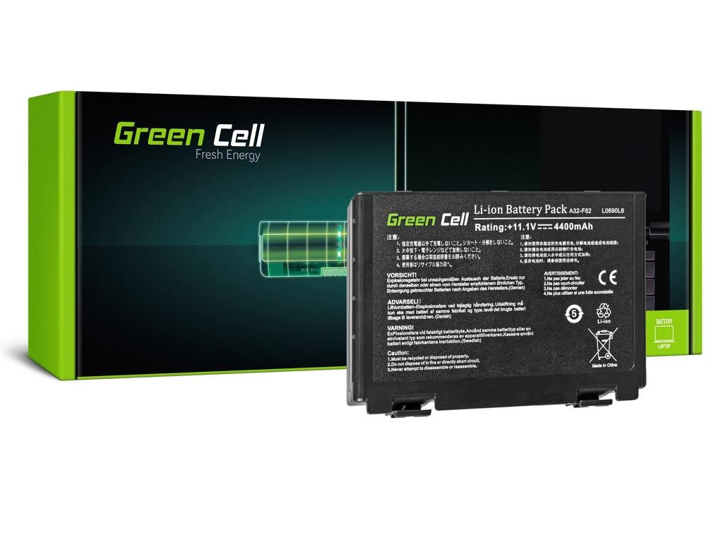 Baterija Green Cell za Asus A32-F82 K40 K50 K60 K70 / 11,1V 4400mAh