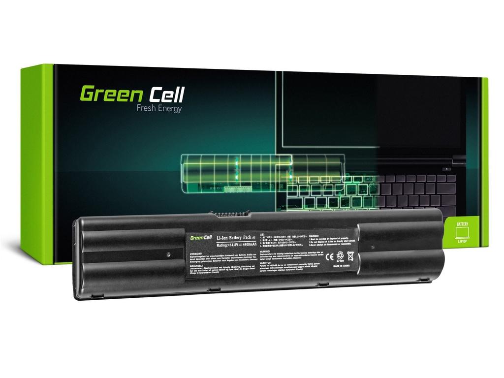 Baterija Green Cell za Asus A3 A3A A3000 A6 A6M A6R A6000 A7 G1 G2 / 14,4V 4400mAh
