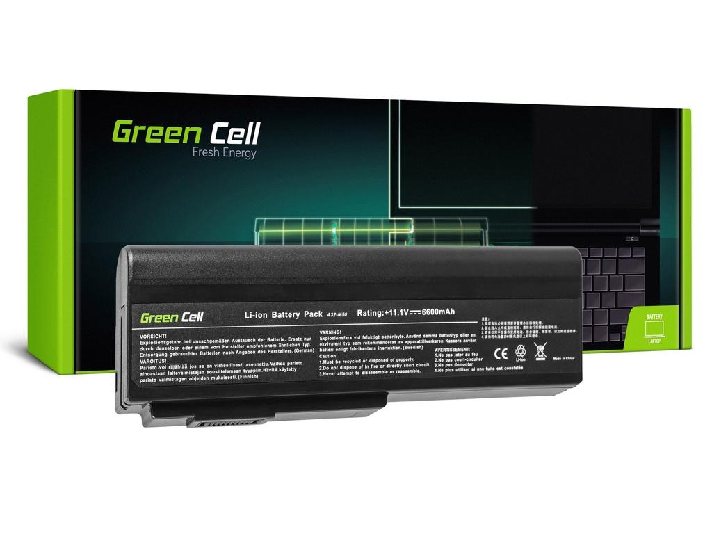 Baterija Green Cell za Asus A32-M50 A32-N61 N43 N53 G50 L50 M50 M60 N61VN / 11,1V 6600mAh