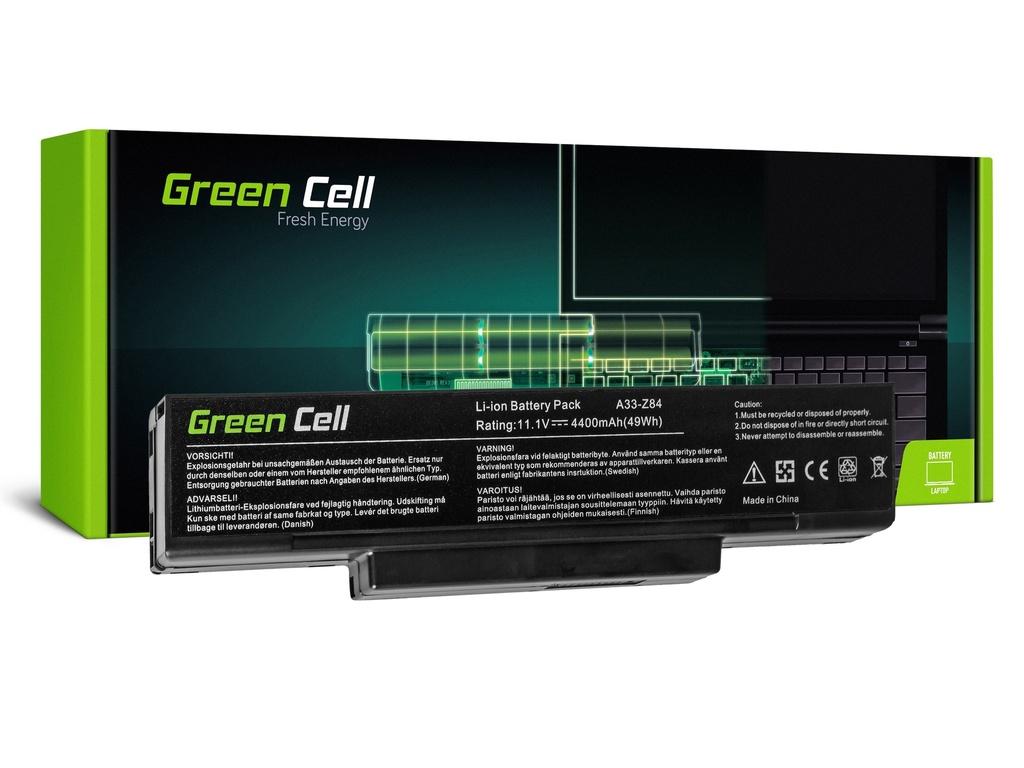 Baterija Green Cell za Asus A9 S9 S96 Z62 Z9 Z94 Z96 / 11,1V 4400mAh