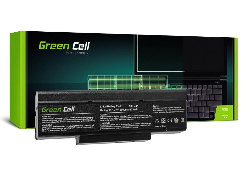 Baterija Green Cell za Asus A9 S9 S96 Z62 Z9 Z94 Z96 / 11,1V 6600mAh