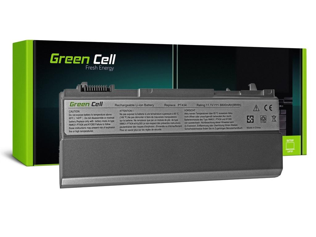 Baterija Green Cell za Dell Latitude E6400 E6410 E6500 E6510 (rear) / 11,1V 8800mAh