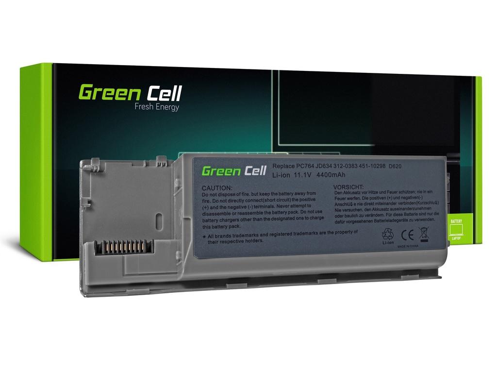 Baterija Green Cell za Dell Latitude D620 D630 D630N D631 / 11,1V 4400mAh