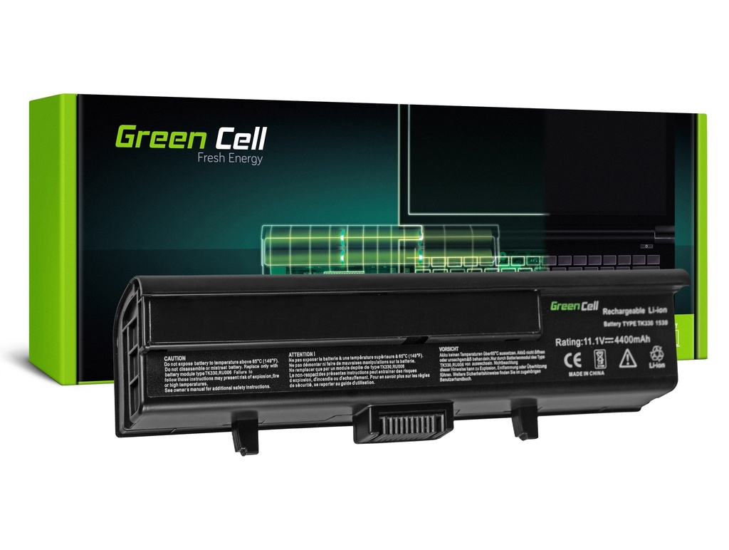 Baterija Green Cell za Dell Inspiron XPS M1530 XPS M1530 XPS PP28L0 / 11,1V 4400mAh