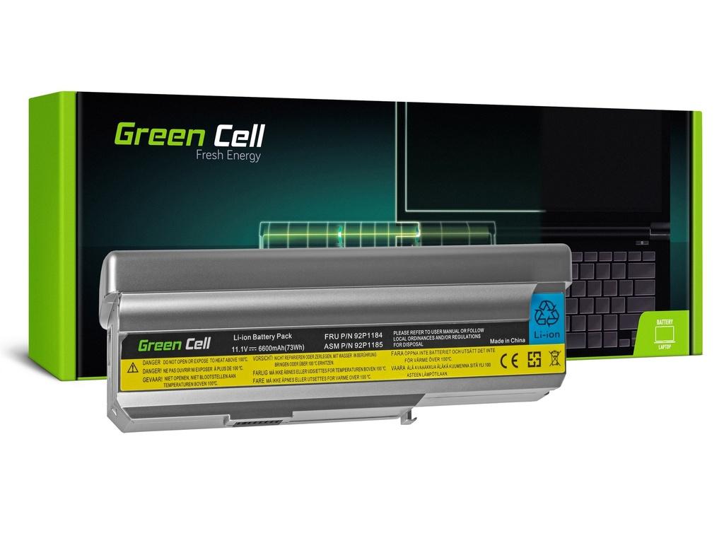 Baterija Green Cell za Lenovo 3000 N100 N200 C200 / 11,1V 6600mAh