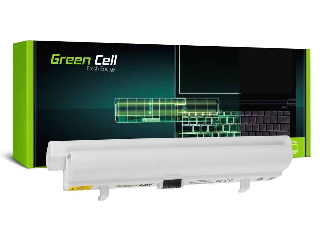 Baterija Green Cell za Lenovo IdeaPad S9 S9e S10 S10e S10C S12 (bela) / 11,1V 4400mAh